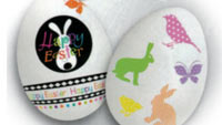 Easter eggs decals