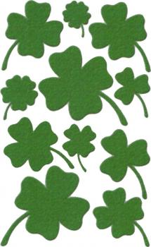 Edel Sticker Cloverleaf green