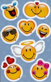 Smiley Sticker with halo