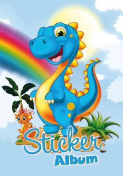 Sticker album A5 Dinos