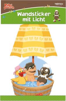 Wall sticker with light Pittiplatsch