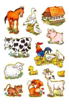 Farm Paper Sticker