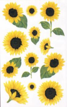 Flowers Sticker Sunflower