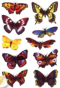 Schmetterling Sticker glimmer