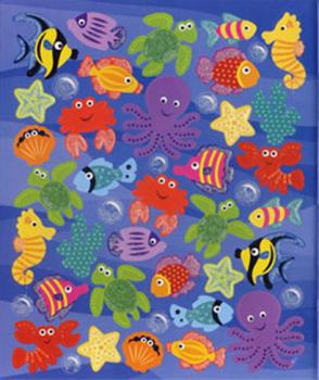 Doublez Stickers Glitter Fish 75 Sticker
