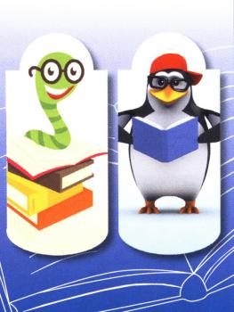 Magnetic Bookmarks Children's room