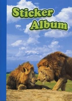 Sticker album A5 lions