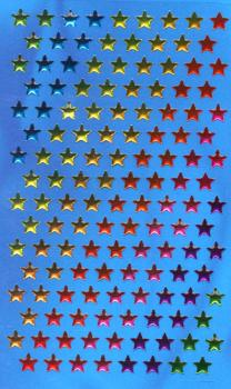 Crystal Sticker small colorful stars