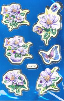 Collage Sticker Blumen