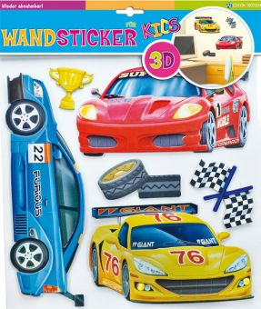Wandsticker Speed Dar 3D-Optik
