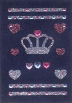 Glam Stickers Rocks crown