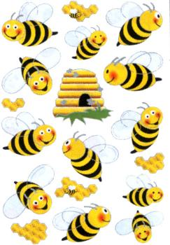 Bee wing Stickers