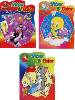 Sticker Album A4 Tom and Jerry