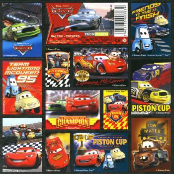 Cars I Paper Sticker