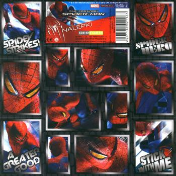 Spider Man Paper Sticker II 16x16