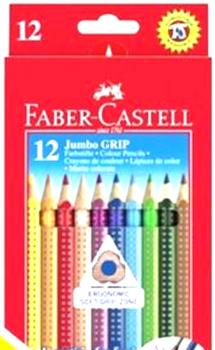 Faber-Castell 12 Jumbo Grip pens with names