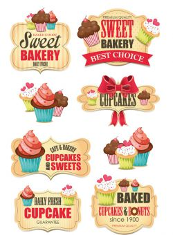 Sweet Bakery Sticker Glimmer