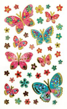 Creative-Sticker Schmetterling