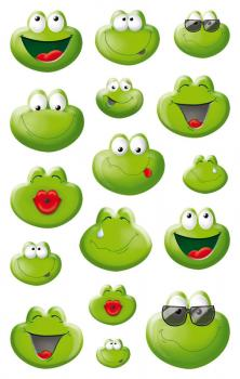 Emoji & Emoticon Frosch