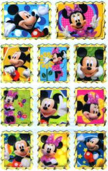 Metallic Sticker Mickey Mouse II
