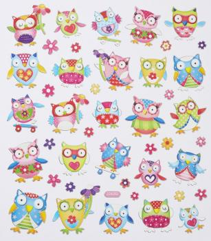 Design Sticker Owl VI