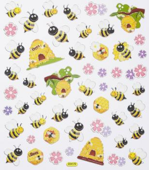 Design Sticker Funny Bees