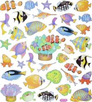 Design Sticker Fische