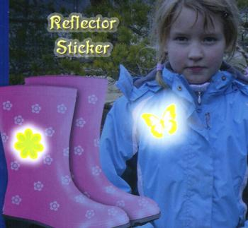 Reflector Sticker Feet yellow