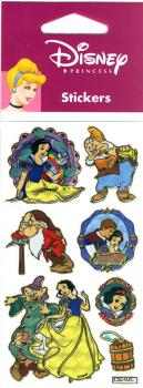 Metallic Sticker Disney 7 Dwarfs VI