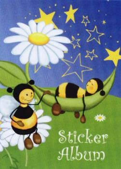 Sticker album A5 bee meadow
