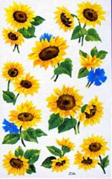 Flower Sticker sunflower