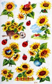 Sunflower Sticker mica