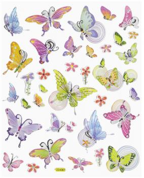 Design Sticker Butterflies III
