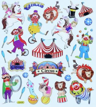 Design Sticker Circus