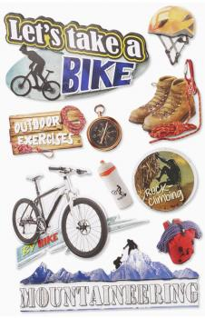 3D Sticker Sport Freizeit Hobbies