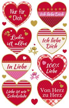 Deco Sticker Love 17 Stickers