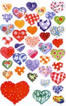 Heart Sticker mica