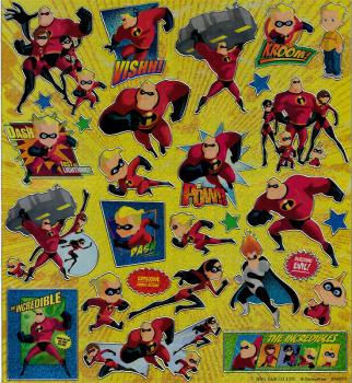 XL Sticker Disney The Incredibles II