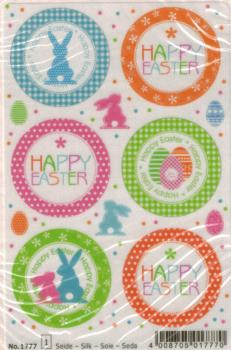 Easter Sticker Silk Paper