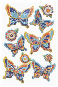 3D Sticker Mica Butterfly VI