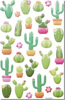 Balloon sticker XL Cacti