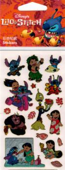 Metallic stickers Disney Lilo& Stitch