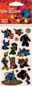 Metallic Sticker Disney Lilo& Stitch