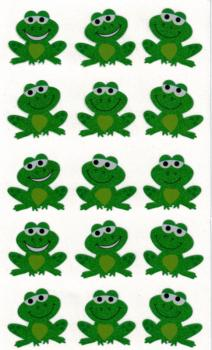 Frosch Prismatic-Sticker