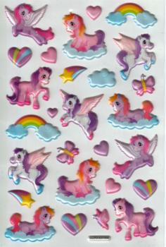 Crystal Sticker Einhorn