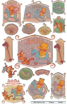 Glossy-Sticker Baby Pooh III