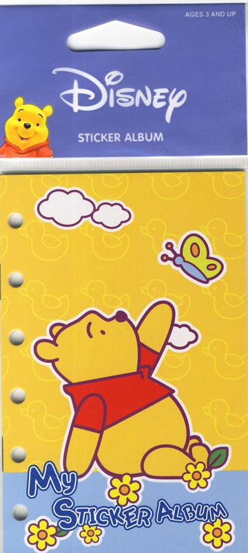 Stickeralbum A6 Winnie Pooh I - Sticker, Etiketten u. Aufkleber zum ...
