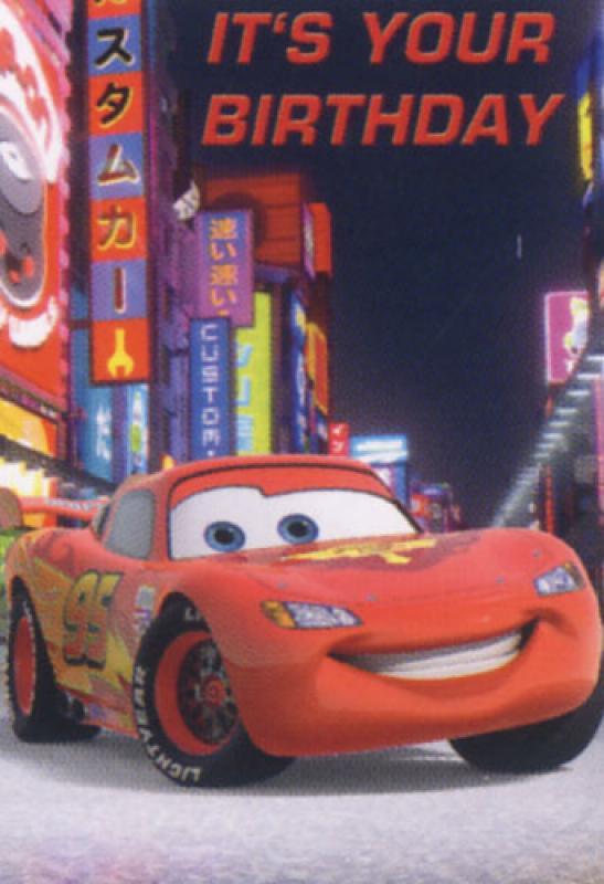 Cars Birthday Card