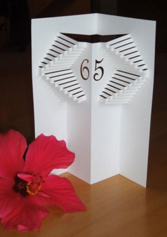 Geburtstagskarte mit 3d
