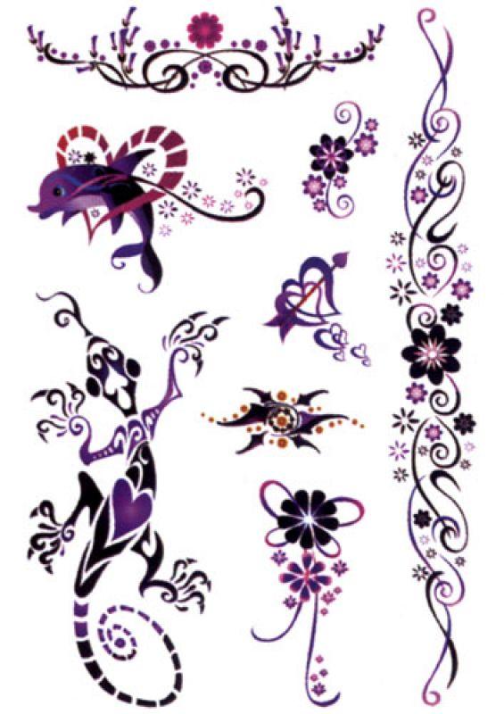 tattoos black art filigran. Black Bedroom Furniture Sets. Home Design Ideas